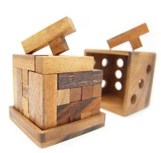 Y Cube Packing Puzzle :: Houten Breinbreker