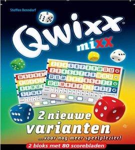 Qwixx Mix Scorebloks
