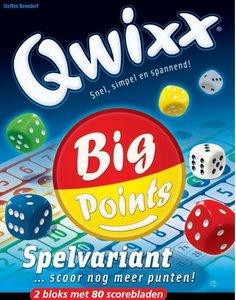 Qwixx Big Points - scoreblok