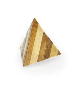 3D Bamboo puzzle - Pyramid