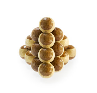 3D Bamboo puzzle - Cannon Balls