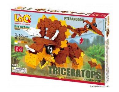 LaQ Dinosaur World Triceratops en Pteranodon :: LaQ