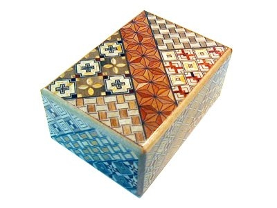 Japanse puzzeldoos 4 stappen