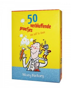 50 verbluffende proefjes :: Story Factory