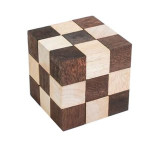 Snake Cube :: Houten Breinbreker