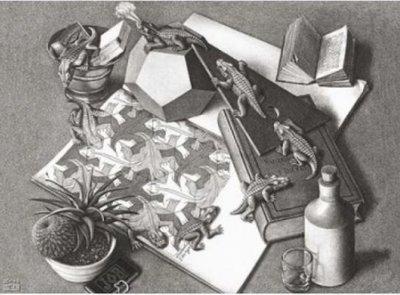 Reptielen :: M.C. Escher