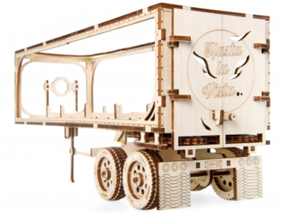Heavy Boy Truck Trailer :: Ugears