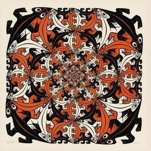 Salamanders :: M.C. Escher