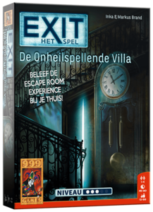 Exit Onheilspellende Villa :: 999 Games
