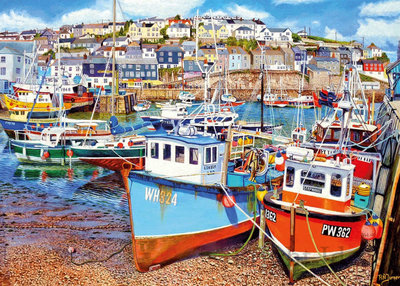 Mevagissey Harbour :: Gibsons