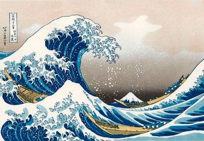 The Great Wave off Kanagawa :: Katsushika Hokusai