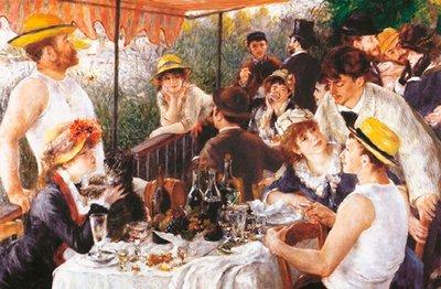 Lunch van de Roeiers :: Pierre-Auguste Renoir