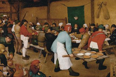 De Boerenbruiloft :: Pieter Bruegel de Oude