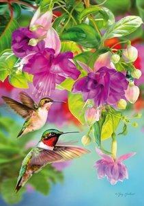 Hummingbirds :: Puzzleman