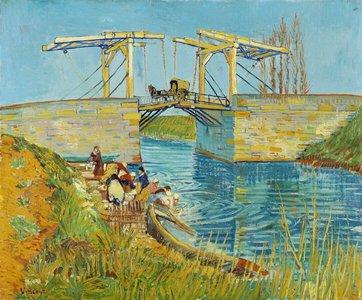 Brug te Arles :: Vincent van Gogh